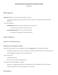 textbook-notes-for-chapter-10-aggression-