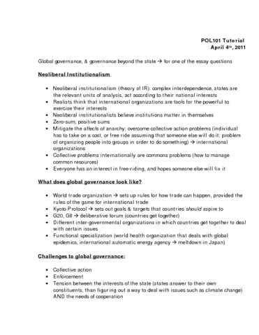 High School Essay Example Poly Study Guide  Winter  Final  Kyoto Protocol Global  Governance Complex Interdependence Apa Format For Essay Paper also What Is Thesis In An Essay Poly Study Guide  Winter  Final  Kyoto Protocol Global  Thesis Statement Descriptive Essay