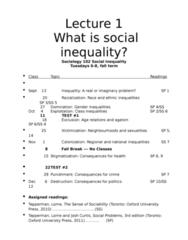 social-inequality