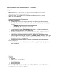 schizophrenia-and-other-psychotic-disorders-lecture-and-text-notes-chapter-13-detailing-schizophrenia-and-the-clinical-description-causes-and-treatment-