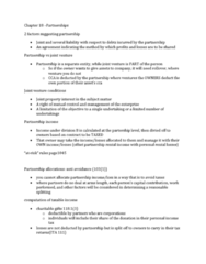 chapter-18-summary-notes-chapter-18-partnerships-and-trusts-summarized-version-of-chapter-18-to-quickly-read-through-and-understand-useful-for-reading-over-before-exams-and-as-a-refresher-