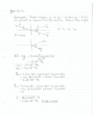 electrostatics-static-electricity-day-4-multiple-charges-sum-of-electric-field-vectors-examples