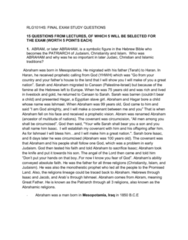 rlg101-exam-study-questions