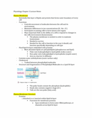 physiology-chapter-3-lecture-notes