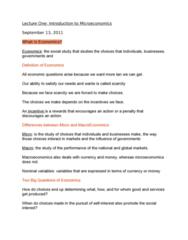 lecture-one-intro-to-microeconomics