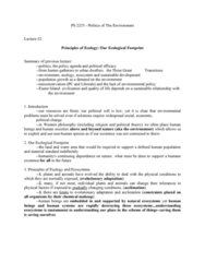 lecture-2-principles-of-ecology-our-ecological-footprint