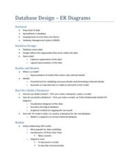 database-design-er-diagrams