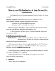 article-by-reissman-women-and-medicalization-a-new-perspective