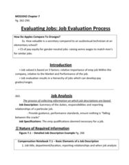 chapter-7-evaluating-jobs-the-job-evaluation-process