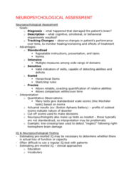neuropsychological-assessment-lecture-notes
