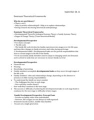 dominant-theoretical-framework