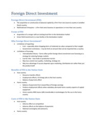 foreign-direct-investment