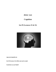 cognition-lectures-22-23