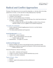 radical-and-conflict-approaches