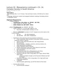 lecture-10-mesoamerica-continued-ch-14-complex-society-in-south-america