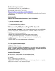 global-development-project