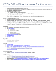 econ-302-what-to-know-for-the-exam