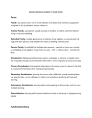 si-chpt-11-families-and-socialization-text-and-lecture-study-notes-doc
