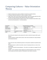 comparing-cultures-value-orientation-theory-docx