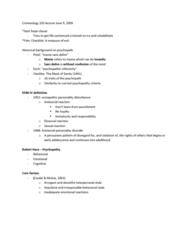 criminology-103-lecture-june-9-docx