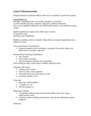lecture-27-pharmacoeconomics