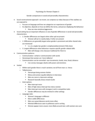 psychology-for-women-chapter-6-docx