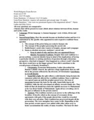 world-religions-exam-review-doc