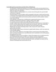 healthsci-1002-lecture-note-social-suffering-and-structural-violence-and-the-politics-of-philanthropy-docx