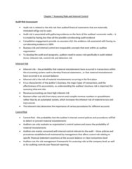 chapter-7-assessing-risks-and-internal-control-docx