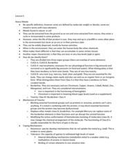 human-health-and-enviro-notes-lecture-5
