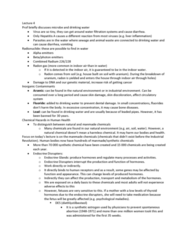 human-health-and-enviro-notes-lecture-4