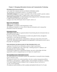 chapter-3-managing-information-systems-and-communication-technology-docx