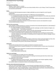 psychology-notes-developmental-psychology-dolderman-