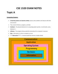 cse-1520-exam-notes-a-e-docx