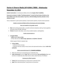 stories-in-diverse-media-ap-huma-1780b-wednesday-november-14-2012