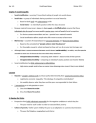 soc-101-complete-final-exam-notes