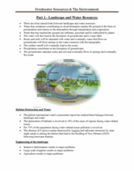 earth-science-2ww3-lecture-3-notes-freshwater-resources-the-environment-pdf
