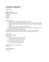 in-fashion-chapter-8-outline