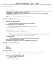 psy100-exam-study-notes