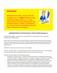 psychological-science-third-canadian-edition-chapter-one-notes-docx