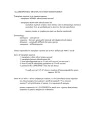 transplantation-immunology