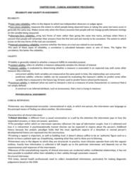 clinical-assessment-procedures