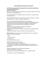 developmental-psychobiology-mid-term-docx