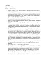 lecture-1-epithelia