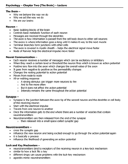 psychology-lecture-notes-chapter-two-docx