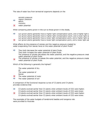 Bio Quiz 2 Cx Oneclass