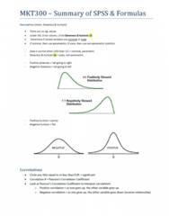 mkt300-spss-formulas-summary-pdf