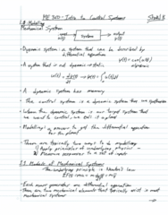 me-360-intro-to-control-systems-full-course-lecture-notes-prof-jeon-winter-2013