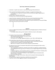 psychology-46-339-motivation-notes