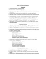 exp-psychology-notes